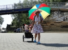 VIGLis Wanderbühne unterwegs, Theaterprobe im Westpark_2